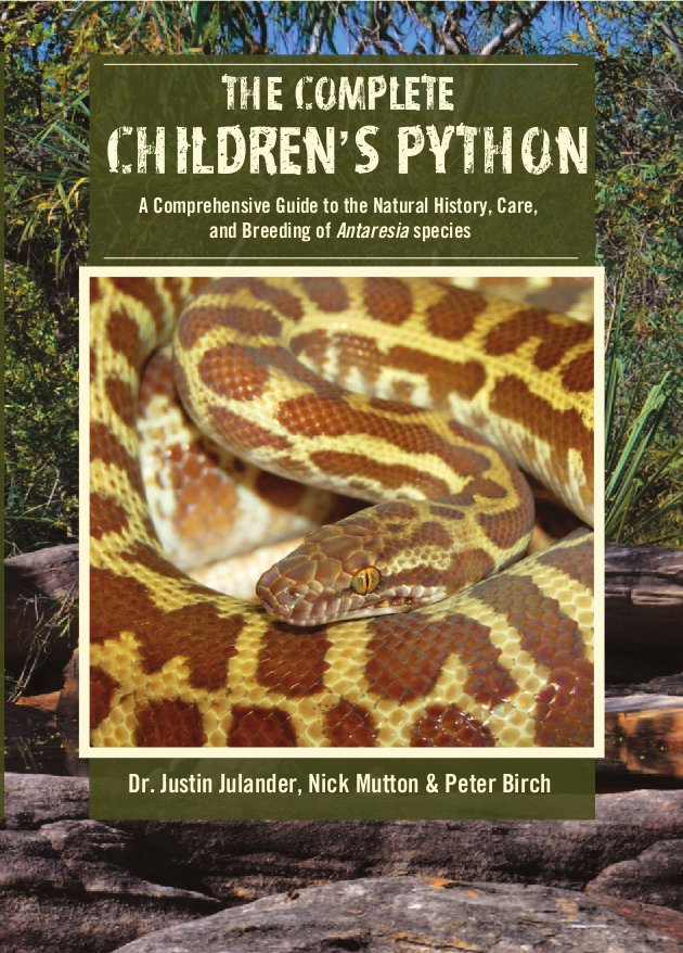 The Complete Children's Python- A                 comprehensive guide to the natural history, care and                 breeding of Antaresia species